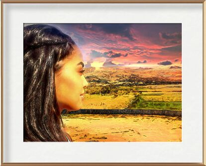 Sun of Africa from Adam da Silva, VisionArt, Art photography, Framed artwork, Prodi Art