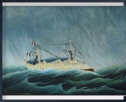 Le Navire dans la tempête de AUX BEAUX-ARTS, Prodi Art, Photographie d'art, Œuvre encadrée, Prodi Art
