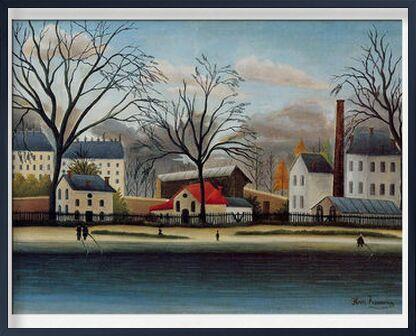 Banlieue de AUX BEAUX-ARTS, Prodi Art, Photographie d'art, Œuvre encadrée, Prodi Art