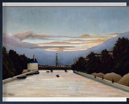 La tour Eiffel de AUX BEAUX-ARTS, Prodi Art, Photographie d'art, Œuvre encadrée, Prodi Art
