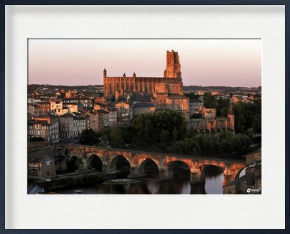 Albi Episcopal City - Copyrigh... from Thierry Pons, Prodi Art, Art photography, Framed artwork, Prodi Art