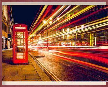 In a London street by night from Pierre Gaultier, Prodi Art, Art photography, Framed artwork, Prodi Art