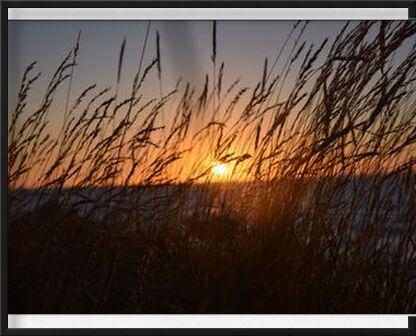 Coucher de soleil breton de Loïse Raoult, VisionArt, Photographie d'art, Œuvre encadrée, Prodi Art