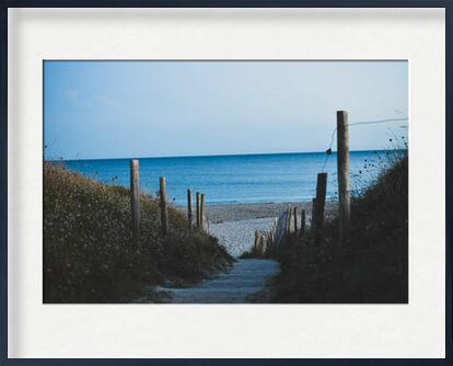 Sentier côtier de Loïse Raoult, VisionArt, Photographie d'art, Œuvre encadrée, Prodi Art
