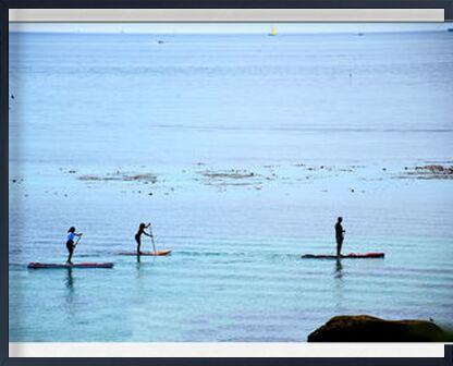 Paddle de Loïse Raoult, VisionArt, Photographie d'art, Œuvre encadrée, Prodi Art