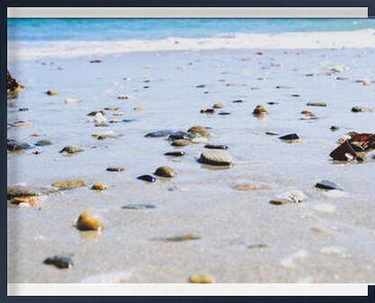 La plage de Loïse Raoult, VisionArt, Photographie d'art, Œuvre encadrée, Prodi Art