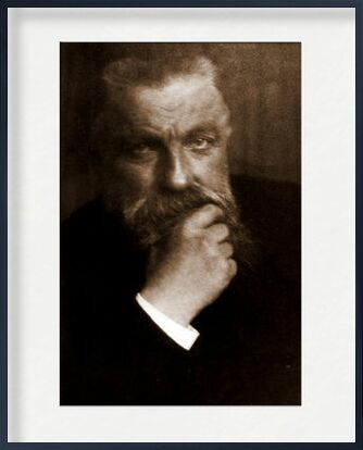 Auguste Rodin - Edward Steichen 1902 from Aux Beaux-Arts, VisionArt, Art photography, Framed artwork, Prodi Art