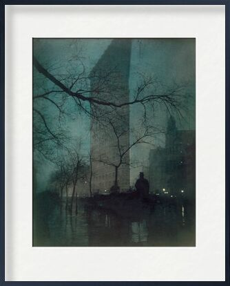 Flatiron Building, New York - Edward Steichen 1904 de Aux Beaux-Arts, Prodi Art, Photographie d'art, Œuvre encadrée, Prodi Art