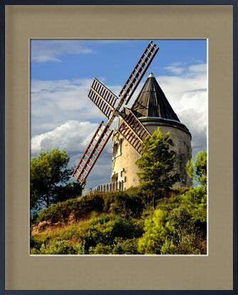 Moulin de Martigues from Frédéric Traversari, VisionArt, Art photography, Framed artwork, Prodi Art