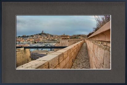 Marseille depuis le fort Saint Jean from Frédéric Traversari, VisionArt, Art photography, Framed artwork, Prodi Art