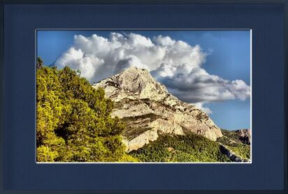 Montagne de la Sainte Victoire from Frédéric Traversari, VisionArt, Art photography, Framed artwork, Prodi Art