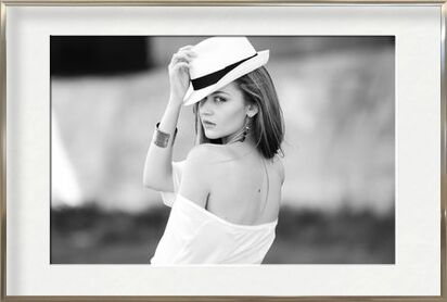 Woman and her hat from Pierre Gaultier, Prodi Art, Art photography, Framed artwork, Prodi Art