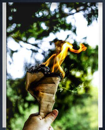 Le FEU de Marie Guibouin, Prodi Art, Photographie d'art, Œuvre encadrée, Prodi Art