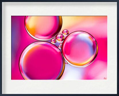 Oily bubbles #8 from Mickaël Weber, Prodi Art, Art photography, Framed artwork, Prodi Art