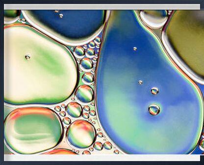 Oily bubbles #11 from Mickaël Weber, Prodi Art, Art photography, Framed artwork, Prodi Art