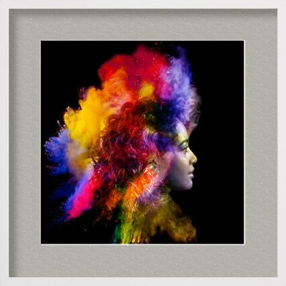 In a flash of smoke from Adam da Silva, Prodi Art, Art photography, Framed artwork, Prodi Art
