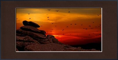 Flying to the Sunset from Pierre Gaultier, VisionArt, Art photography, Framed artwork, Prodi Art