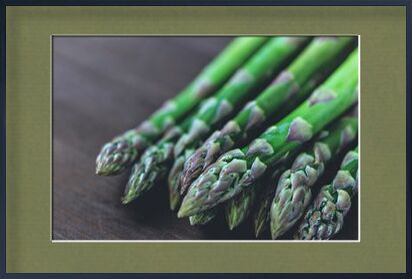 Our asparagus from Pierre Gaultier, Prodi Art, Art photography, Framed artwork, Prodi Art