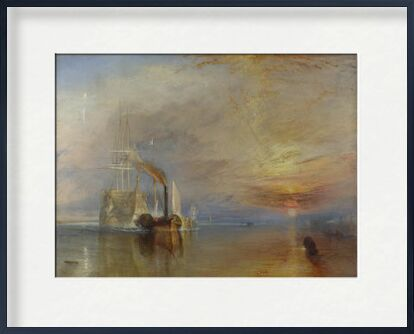 The Fighting Temeraire - WILLIAM TURNER 1883 from Aux Beaux-Arts, Prodi Art, Art photography, Framed artwork, Prodi Art