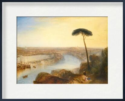 Rome, From Mount Aventine - WILLIAM TURNER 1835 from Aux Beaux-Arts, Prodi Art, Art photography, Framed artwork, Prodi Art
