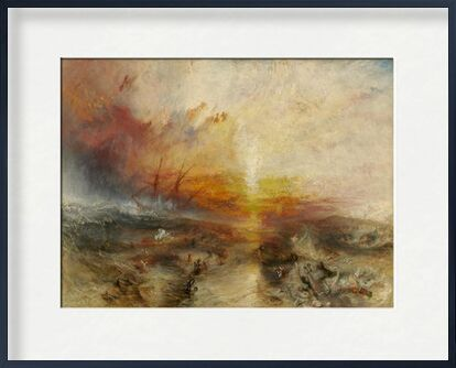 The slave ship - WILLIAM TURNER 1840 from Aux Beaux-Arts, Prodi Art, Art photography, Framed artwork, Prodi Art