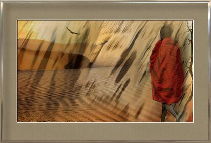 The march of Maasai from Adam da Silva, Prodi Art, Art photography, Framed artwork, Prodi Art