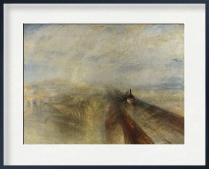 Rain, Steam and Speed – The Great Western Railway - WILLIAM TURNER 1844 from Aux Beaux-Arts, Prodi Art, Art photography, Framed artwork, Prodi Art