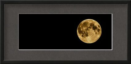 Full moon from Pierre Gaultier, VisionArt, Art photography, Framed artwork, Prodi Art
