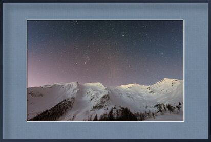 The stars under the mountain from Pierre Gaultier, Prodi Art, Art photography, Framed artwork, Prodi Art