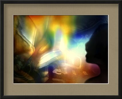 Conjugation of the senses from Adam da Silva, VisionArt, Art photography, Framed artwork, Prodi Art