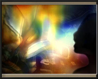 Conjugaison des sens de Adam da Silva, VisionArt, Photographie d'art, Œuvre encadrée, Prodi Art