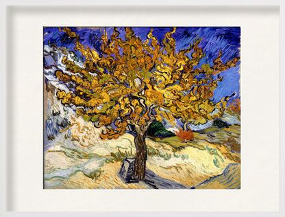 Mulberry Tree at  Saint-Rémy - 1889 VINCENT VAN GOGH from Aux Beaux-Arts, Prodi Art, Art photography, Framed artwork, Prodi Art