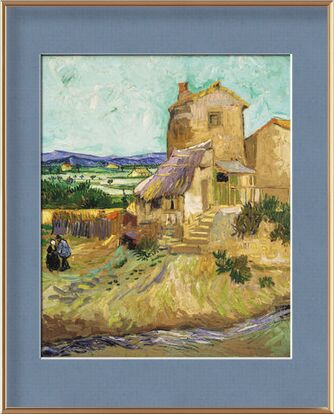 The Old Mill - VINCENT VAN GOGH 1888 from Aux Beaux-Arts, Prodi Art, Art photography, Framed artwork, Prodi Art