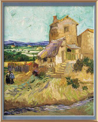 Le vieux moulin - VINCENT VAN ... de AUX BEAUX-ARTS, Prodi Art, Photographie d'art, Œuvre encadrée, Prodi Art