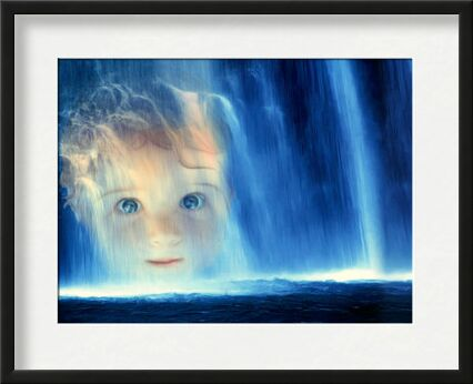 The waterfall from Adam da Silva, VisionArt, Art photography, Framed artwork, Prodi Art