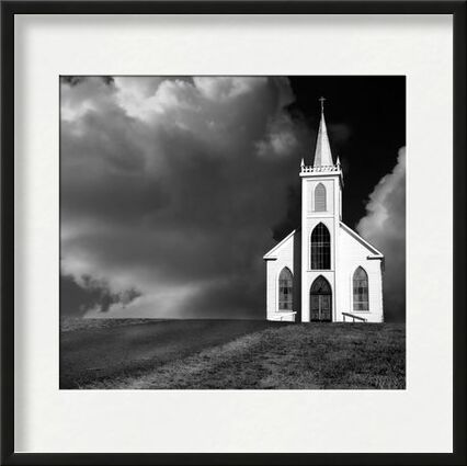 Church picture, ANSEL ADAMS - 1937 from Aux Beaux-Arts, VisionArt, Art photography, Framed artwork, Prodi Art