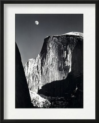 Parc national de Yosemite, Californie, ANSEL ADAMS - 1960 de Aux Beaux-Arts, Prodi Art, Photographie d'art, Œuvre encadrée, Prodi Art