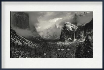 Yosemite, United States - ANSEL ADAMS 1952 from Aux Beaux-Arts, Prodi Art, Art photography, Framed artwork, Prodi Art