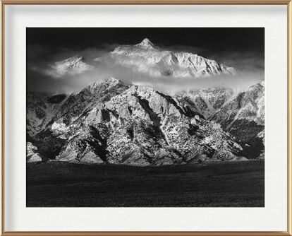 Montagne Williamson, Sierra Nevada - ANSEL ADAMS 1949 de Aux Beaux-Arts, Prodi Art, Photographie d'art, Œuvre encadrée, Prodi Art