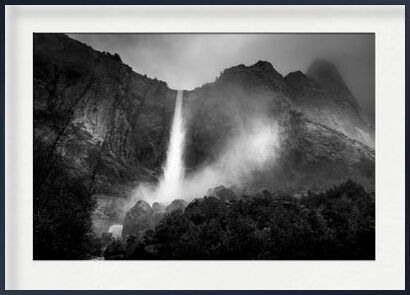 The fountain, New Mexico, ANSEL ADAMS 1956 from Aux Beaux-Arts, VisionArt, Art photography, Framed artwork, Prodi Art