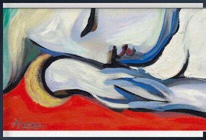 Le repos - PABLO PICASSO de AUX BEAUX-ARTS, Prodi Art, Photographie d'art, Œuvre encadrée, Prodi Art