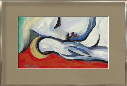 Rest - PABLO PICASSO from Aux Beaux-Arts, VisionArt, Art photography, Framed artwork, Prodi Art