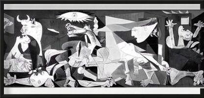 Guernica - PABLO PICASSO de AUX BEAUX-ARTS, Prodi Art, Photographie d'art, Œuvre encadrée, Prodi Art