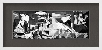 Guernica - PABLO PICASSO from Aux Beaux-Arts, VisionArt, Art photography, Framed artwork, Prodi Art