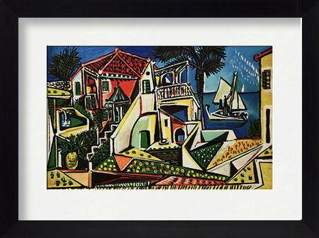 Mediterranean Landscape - PABLO PICASSO from Aux Beaux-Arts, Prodi Art, Art photography, Framed artwork, Prodi Art