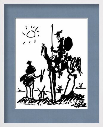 Don Quixote - PABLO PICASSO from Aux Beaux-Arts, VisionArt, Art photography, Framed artwork, Prodi Art