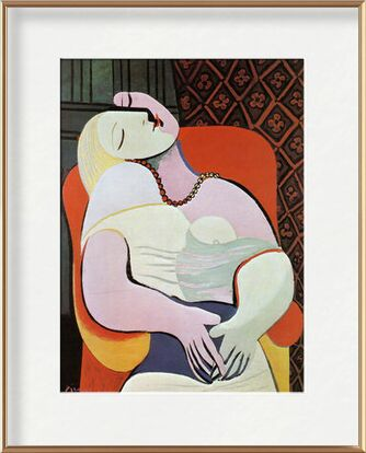 The dream - PABLO PICASSO from Aux Beaux-Arts, VisionArt, Art photography, Framed artwork, Prodi Art