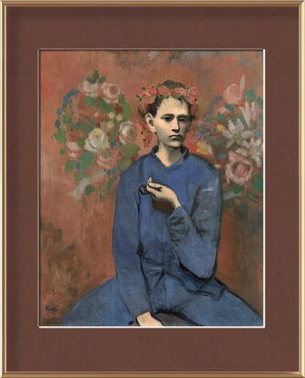 Boy with pipe - PABLO PICASSO from Aux Beaux-Arts, VisionArt, Art photography, Framed artwork, Prodi Art