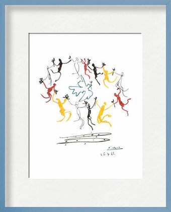 The dance of youth - PABLO PICASSO from Aux Beaux-Arts, VisionArt, Art photography, Framed artwork, Prodi Art