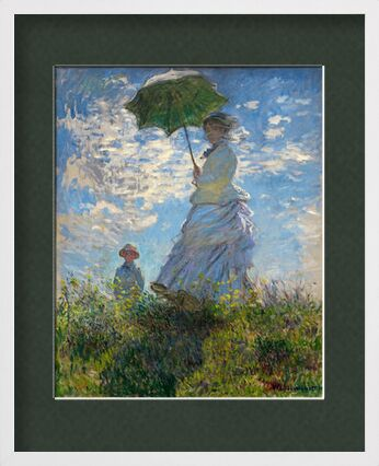 The Stroll - CLAUDE MONET 1875 from Aux Beaux-Arts, Prodi Art, Art photography, Framed artwork, Prodi Art